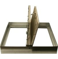 Two Bladed Insulated Static Rectangular Ceiling Radiation Damper image