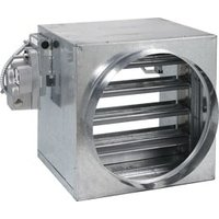Class II Stainless Steel 1 1/2hr Single Thickness Blade Fire/Smoke Damper image