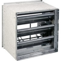 Class II Front Access Grille 1 1/2hr Fire/Smoke Damper image