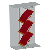Class I - 1 1/2 hr Airfoil Blade Fire/Smoke Damper image
