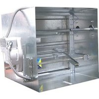 Class II Stainless Steel Single Thickness Blade Smoke Damper image