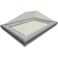 Frost-Free Commercial Pyramid Curb Mount Skylight (Thermoformed Acrylic) image
