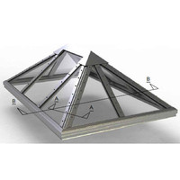 Structural Pyramid Skylight (hip end) image