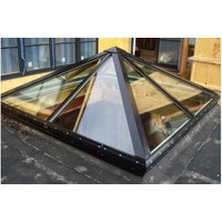 Architectural Glass Pyramid Skylight (Point) image