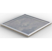 Glass Curb Mount Skylight(flat roof detail) image