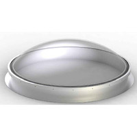 Circular Dome Curb Mount Skylight with Aluminum Curb image