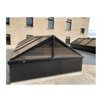Architectural Multiwall Continuous Ridge Pyramid Skylight image