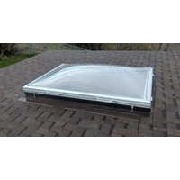 Prefabricated Aluminum Curb with Removable Frost-Free Commercial Skylight image
