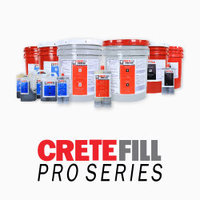 CreteFill Pro Series - Concrete Joint Filler, Crack & Spall Repair image