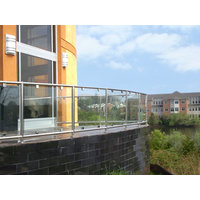 Stainless Steel Glass Railings image
