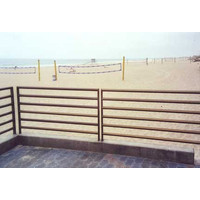Aluminum Multi-Line Guardrails & Pipe Railing Systems image