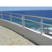 Aluminum Framed Stainless Cable Railing  image