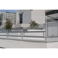 Wire Mesh Railing, Infills Glass Panels image