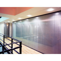 Solare Full Height Double Glazed Frameless Partitions  image