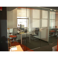 Pivot Frameless Glass Swing Door image