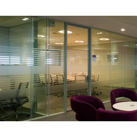 Acoustic Double Glazed Glass Swing Door image