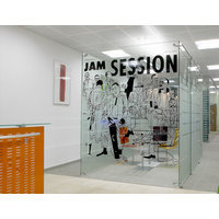 Freestanding Glass Partition System image