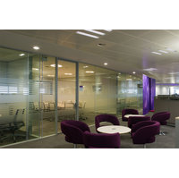 Double Glazed Frameless Partition System image