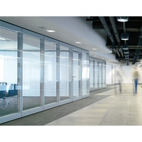 Movable & Folding Glass Partition Systems image
