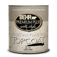 BEHR PREMIUM PLUS WITH STYLE® Venetian Plaster™ Topcoat No. 775 image