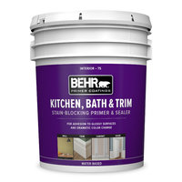 BEHR® PRIMER COATINGS Kitchen, Bath & Trim Interior Stain-Blocking Primer & Sealer No. 75 image