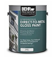 BEHR PREMIUM® Direct to Metal Gloss Paint No. 8200 image