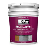 BEHR® Multi-Surface Interior/Exterior Stain Blocking Primer & Sealer No. 436 image