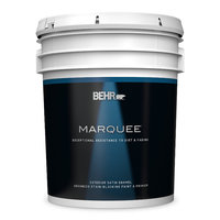BEHR MARQUEE® Exterior Satin Paint Stain Blocking Paint & Primer No. 9450 image
