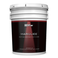 BEHR MARQUEE® Exterior Flat Paint Stain Blocking Paint & Primer No. 4450 image