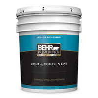 BEHR PREMIUM PLUS® Exterior Satin Paint No. 9050 image