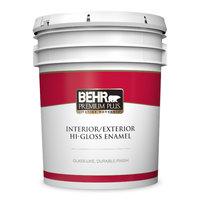 Behr Paint Company image | BEHR PREMIUM PLUS® Interior/Exterior Hi-Gloss Enamel Paint No. 8050
