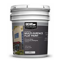 BEHR PREMIUM® Exterior Multi-Surface Flat Paint No. 4100 image