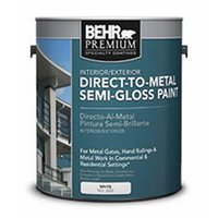 BEHR PREMIUM® Direct to Metal Semi-Gloss Paint No. 3200 image