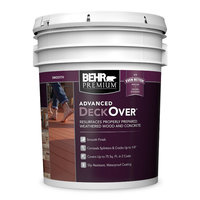 Behr Paint Company image | BEHR PREMIUM ADVANCED DECKOVER® Smooth No. 5000