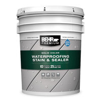 BEHR PREMIUM® Solid Color Weatherproofing All-In-One Wood Stain & Sealer No. 5011 image