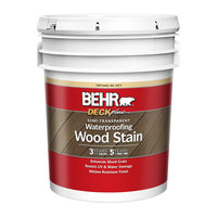 BEHR® DECKPLUS™ SEMI-TRANSPARENT WATERPROOFING WOOD STAIN No. 3077 image