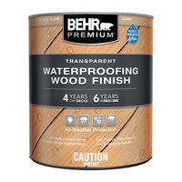 BEHR PREMIUM® Transparent Waterproofing Wood Finish No. 500  image