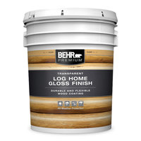 Behr Paint Company image | BEHR PREMIUM® Transparent Log Home Gloss Finish No. 15