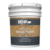 Behr Paint Company image | BEHR® DECKPLUS™ TRANSPARENT WATERPROOFING WOOD FINISH No. 400