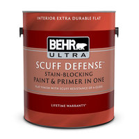 BEHR ULTRA™ SCUFF DEFENSE™ Stain-Blocking Paint & Primer in One image