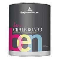 Benjamin Moore Chalkboard Paint image