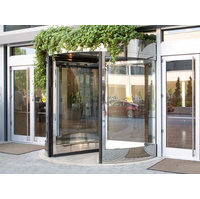 Compact Three and Four Wing Automatic Revolving Door image