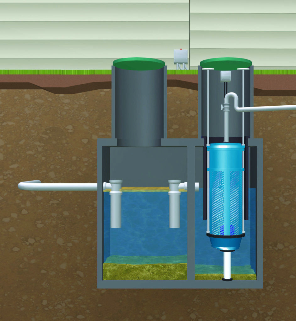 Septic Tank Effluent Pumping System