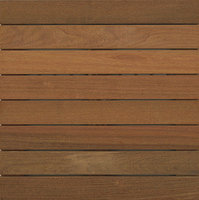 "2′ x 2′ Ipe Wood Tile "" Smooth image"