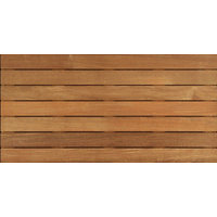 2'x4′ Cumaru Wood Deck Tile Ribbed image