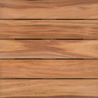 "2′ x 2′ Mahogany Wood Tile "" Smooth image"