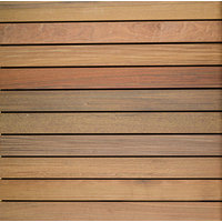 "30″ x 30″ Ipe Wood Tile "" Smooth image"