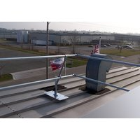 Standing Seam Roof Fall Protection Guardrail image
