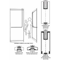 Tempered Glass Door image