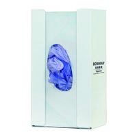 Glove Box Dispenser - Single with Flexible Spring image
